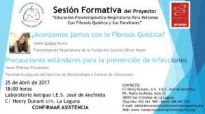Sesión formativa: educación de fisioterapia respiratoria