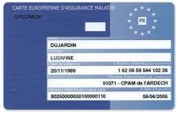 Tarjeta europea profesional