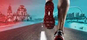 Fisioterapeutas en la media maraton de albacete