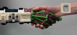 exoesqueleto para la fisioterapia de la mano