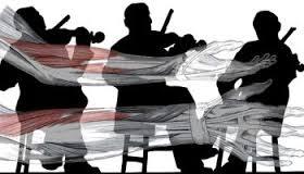Fisioterapeutas con los músicos