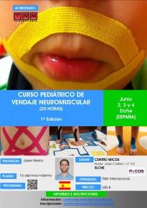 Curso pedíatrico de vendaje neuromuscular