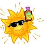 cuidado con el sol, golpes de calor
